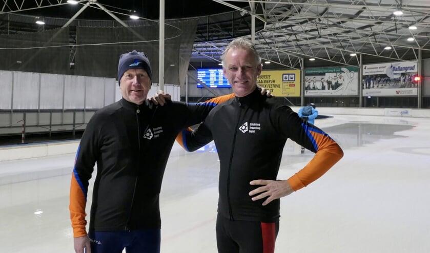 • Henk Swijnenburg (links) en Krijn Donk.