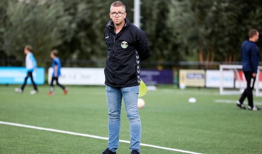 • SV Noordeloos-trainer Erwin Verheij.