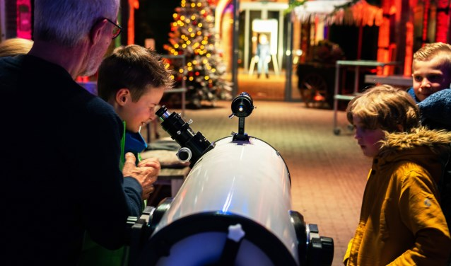 Spannende sterrentocht in het Geofort Foto: Nico Van Ganzewinkel © Leerdam