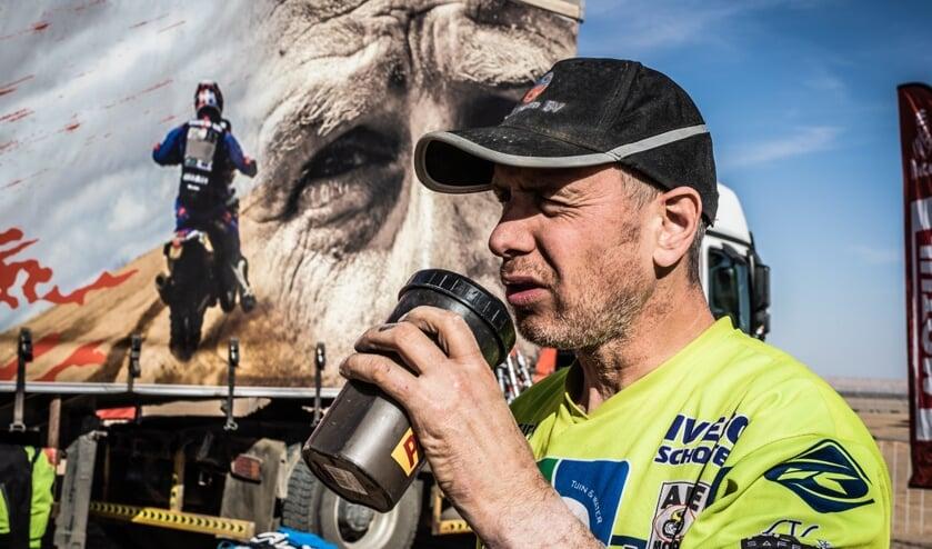 Edwin Straver tijdens Dakar 2020.