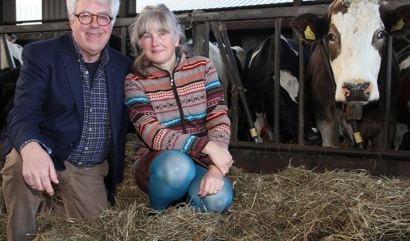 • Klaas en Esther zien stikstofemissie door koeien niet als een probleem.