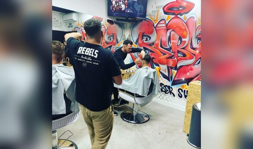 Rebels Barbershop heropende afgelopen zaterdag.