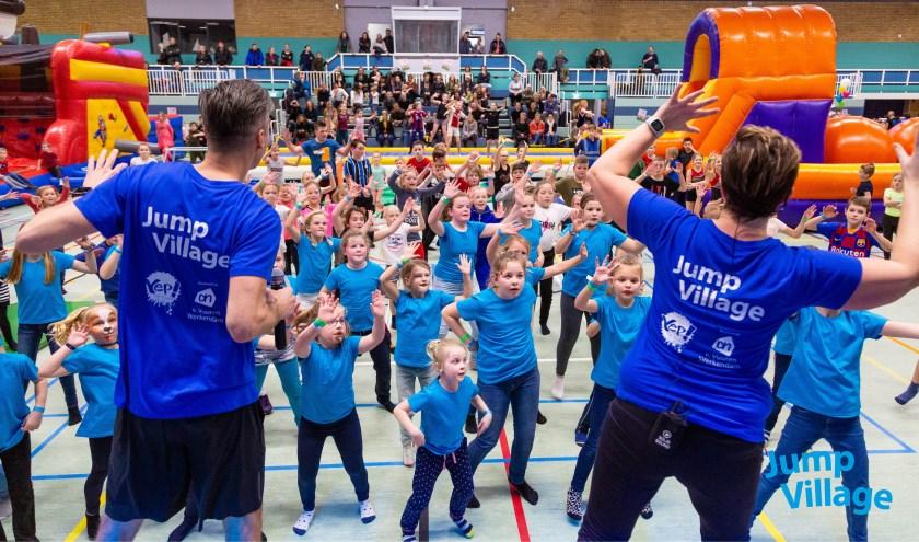 400 kinderen deden mee in De Crosser.