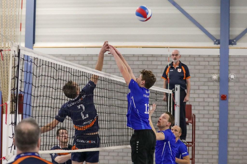• VC WIK - Next Volley (1-3). Foto: Rick den Besten  © Alblasserwaard
