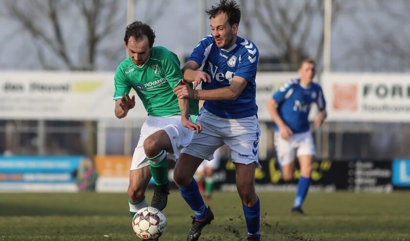 • Schelluinen liet zich vorig seizoen op Scalune verrassen door VVAC.