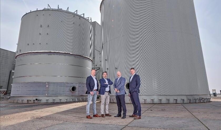 •  Gpi Tanks XL richt zich op de verkoop en productie van roestvrijstalen opslagtanks groter dan zes meter diameter of met een inhoud vanaf 500 m3.