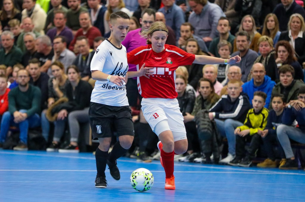 • Vrouwenfinale GJS-Sleeuwijk (1-3). Foto: Rick den Besten - Regio-Voetbal © Heusden en Altena
