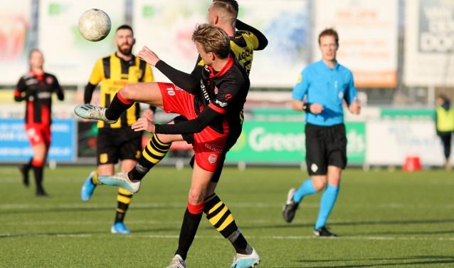 • SteDoCo - DVS'33 Ermelo (1-0). Foto: Rick den Besten - Regio-Voetbal © regiosport