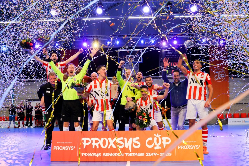 • SVW winnaar van de Proxsys Cup 2019-2020. Foto: Rick den Besten - Regio-Voetbal © regiosport