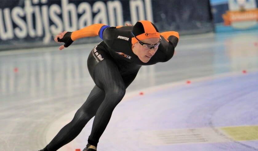 • Colin Schrijver op de 500 meter.