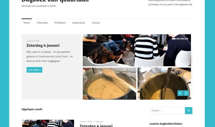 • De website dagboekvangoudriaan.nl.