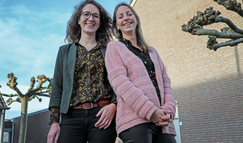 • Eva Snijder (l) en Femke Dijkstra zijn de nieuwe huisartsen in Hedel.