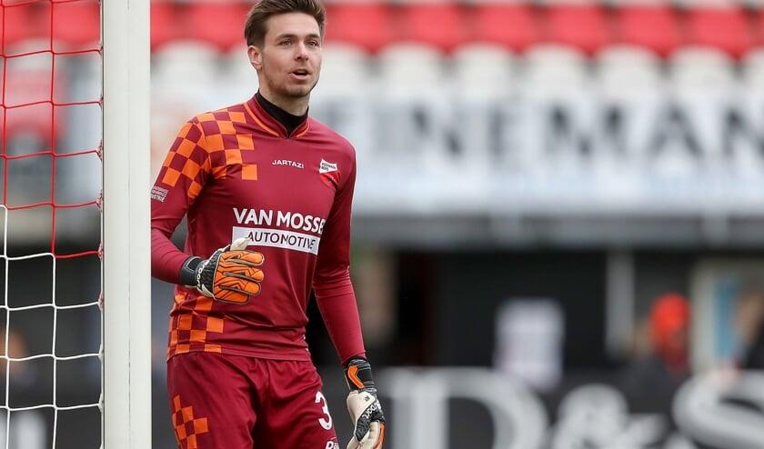 • Kozakken Boys-doelman Nils den Hartog.