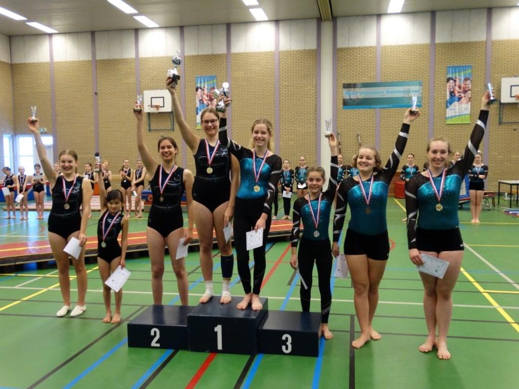 • Janienke van Honk, Lotus Loïs Kaasjager en Charissa van den Ham. Foto: aangeleverd © Bommelerwaard