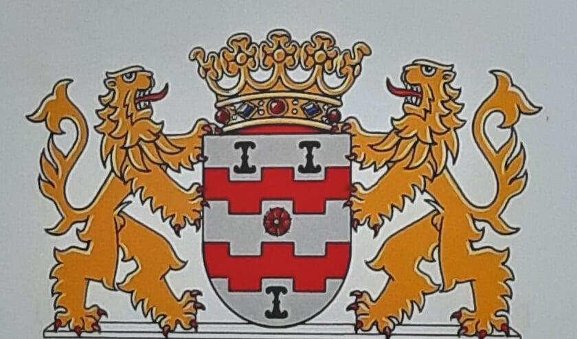 • Voorstel 1 voor het gemeentewapen van de gemeente Vijfheerenlanden.