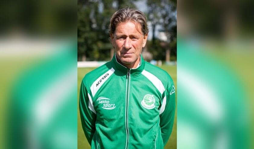 • Woudrichem-trainer Piet Saaman.