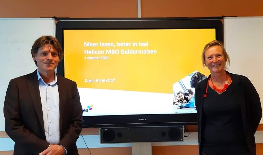 <p>&bull; Kees Broekhof, Mar-Jan van Galen (teamleider Helicon MBO Geldermalsen).</p>