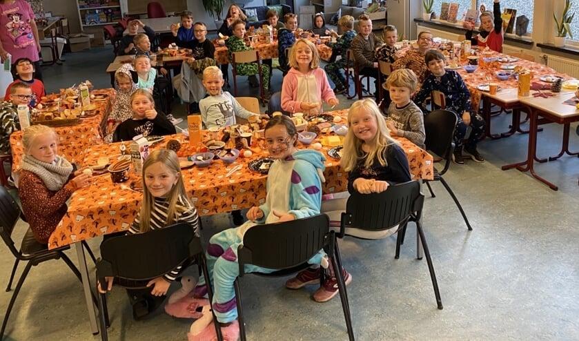 Herfstontbijt basisschool Giessen Oudekerk