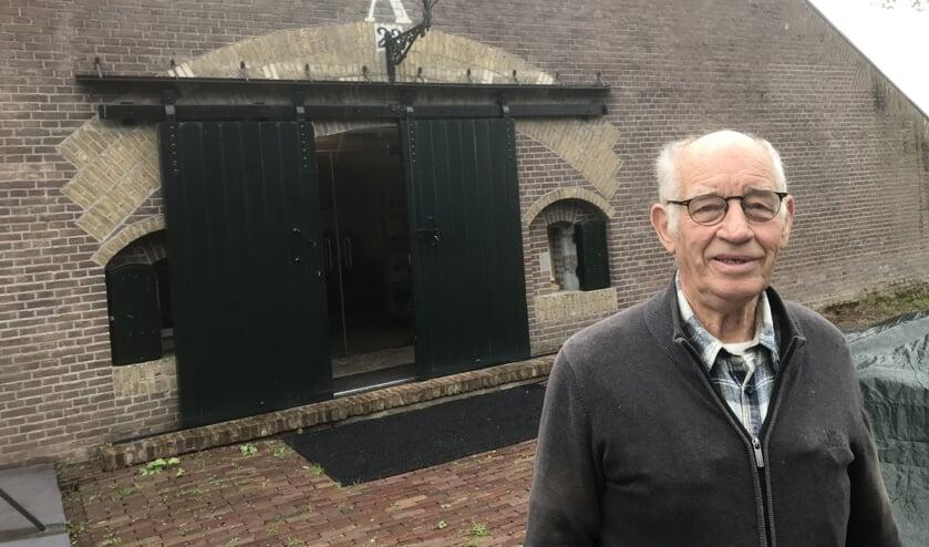 <p>Johan Koekkoek op Fort Giessen, het onderkomen van Altenatuur</p>