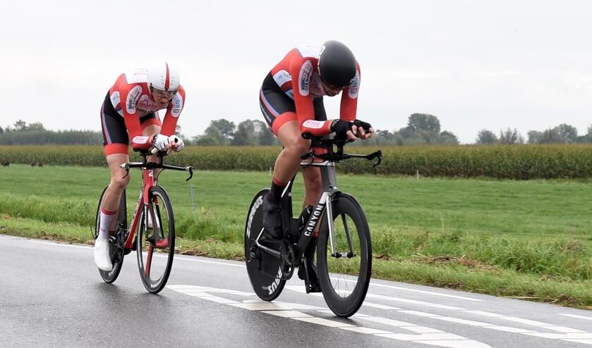 • Henk de Jong en Dirk Jan Verspuij: snelste tijd.