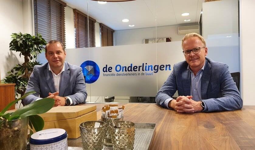 <p>&bull; Peter den Ouden en Thomas Bl&auml;cker vormen sinds 1 september samen de directie van De Onderlingen.</p>