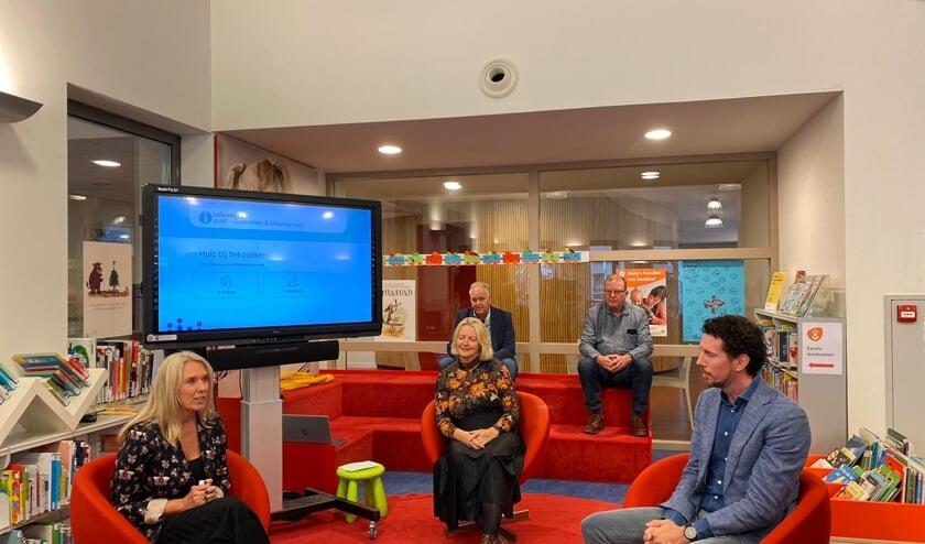 De lancering was via een livestream vanuit de bibliotheek te volgen