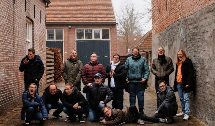 De toekomstige bewoners van de Bloesemhoff in Andel.