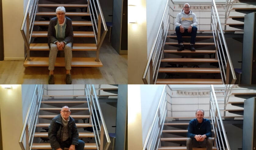 <p>• Het werk bij SamenDoen schenkt Hannie, Gerard, Henk en Edwin veel voldoening.</p>