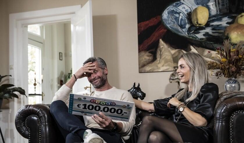 • Kenneth uit Papendrecht won zaterdag op televisie 100.000 euro bij Bingo!