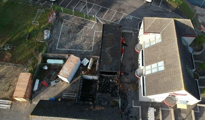 <p>• De brand bij BZC'14 in Brakel richtte grote schade aan.</p>