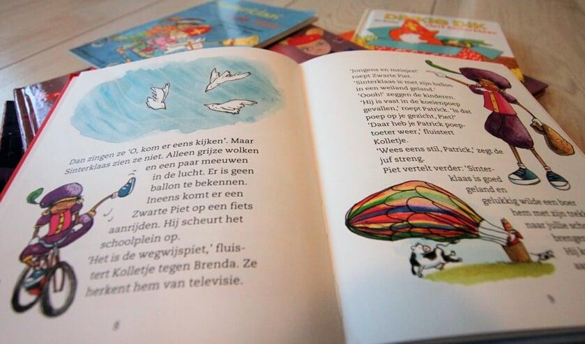 • In oudere Sinterklaasboeken is Zwarte Piet vaak zwart.