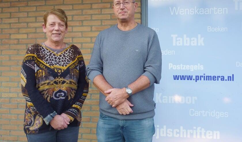 • Cees en Greet den Boef in de Primera in Nieuw-Lekkerland.