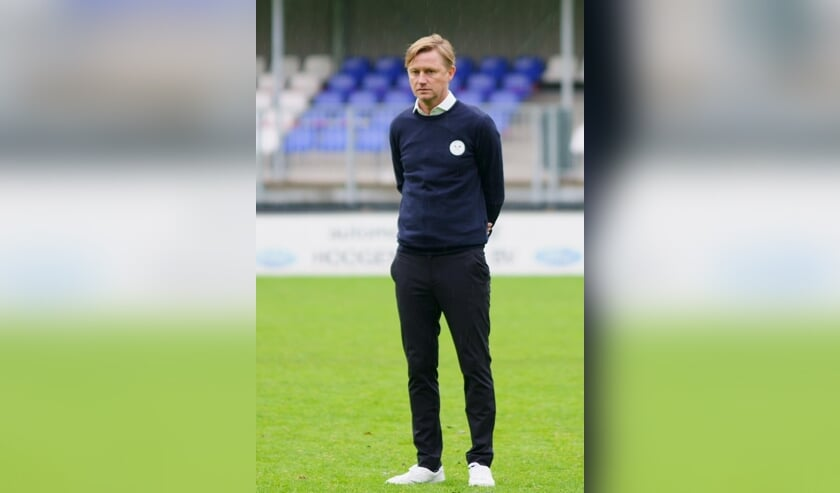 • Drechtstreek-trainer Paul Koster.