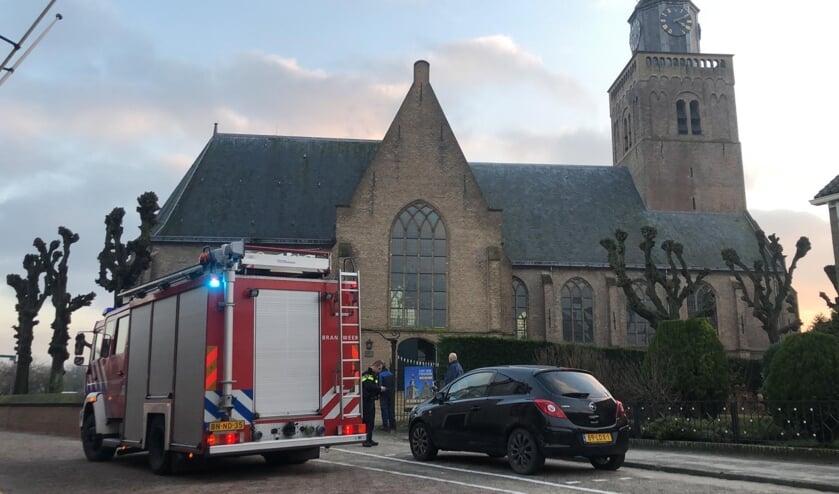 <p>• Brandmelding kerk Streefkerk bleek loos alarm</p>