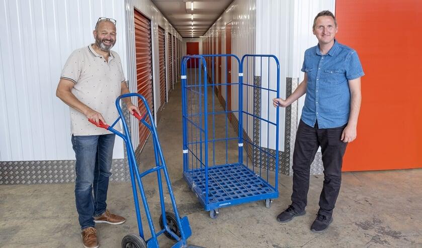 <p>• Dirk van der Kooij en Frank Groenen.</p>