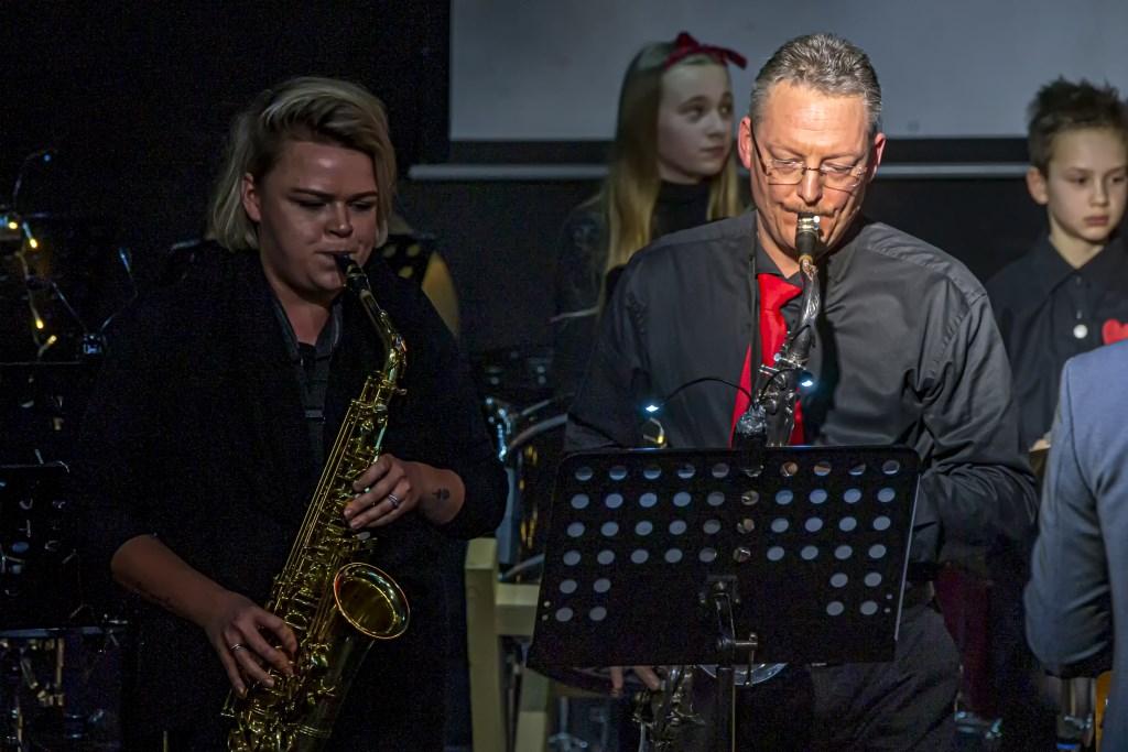 Valentijnsconcert, •  Door Eensgezinsheid Heukelum Foto: Nico Van Ganzewinkel © Leerdam
