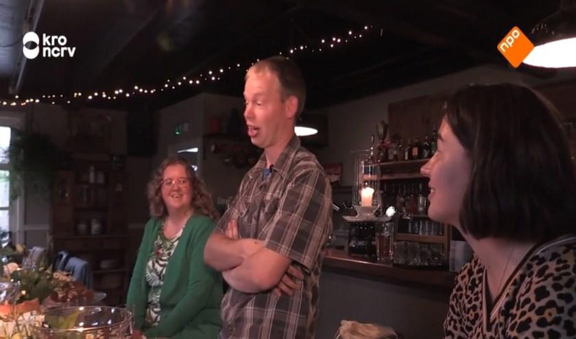• Een schermafbeelding van de uitzending van Boer zoekt Vrouw van afgelopen zondag.