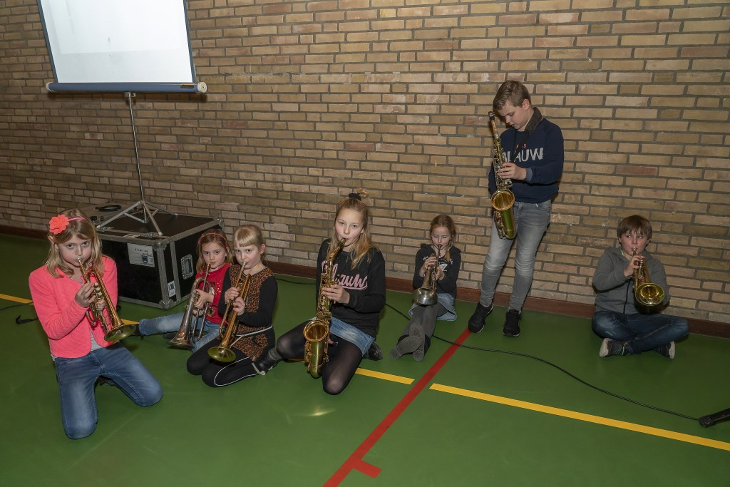 Presentatie project Toekomstmuziek in Hagestein-Hoef en Haag Foto: Nico Van Ganzewinkel © Vianen