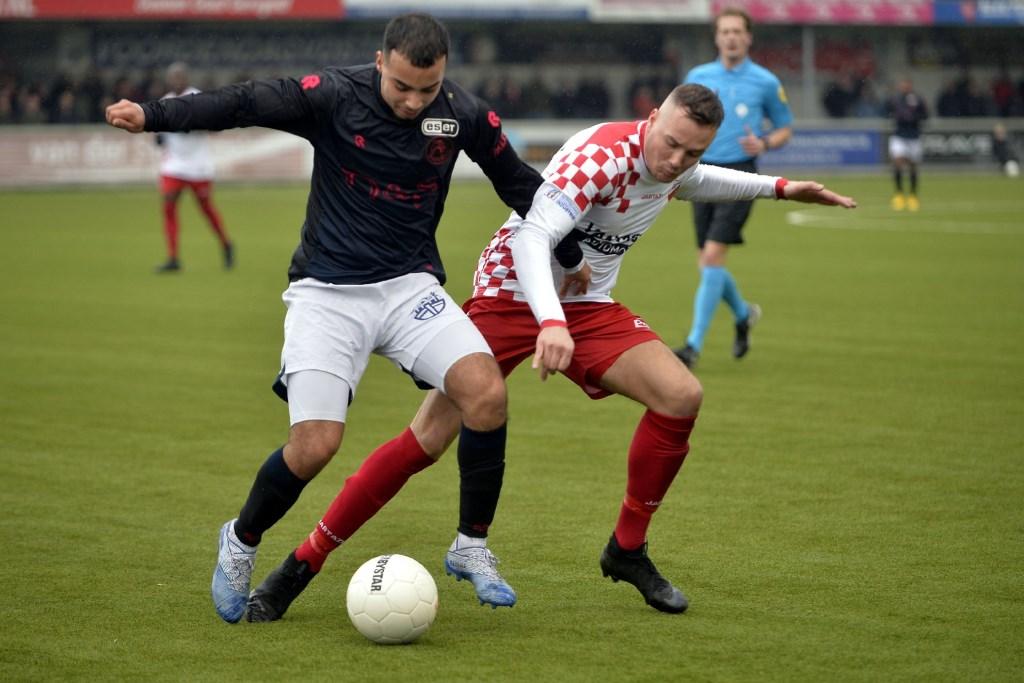• Kozakken Boys - Jong Sparta (2-1). Foto: Teus Admiraal © regiosport