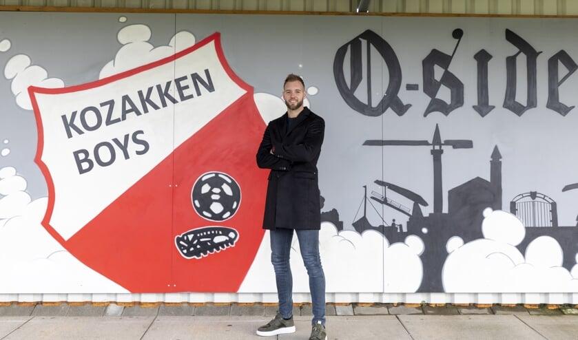 • Sven van Ingen heeft het prima naar zijn zin in Werkendam.