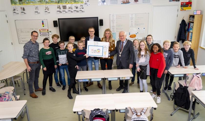 • De startbijeenkomst met de leerlingenraad van de School met de Bijbel in Noordeloos.