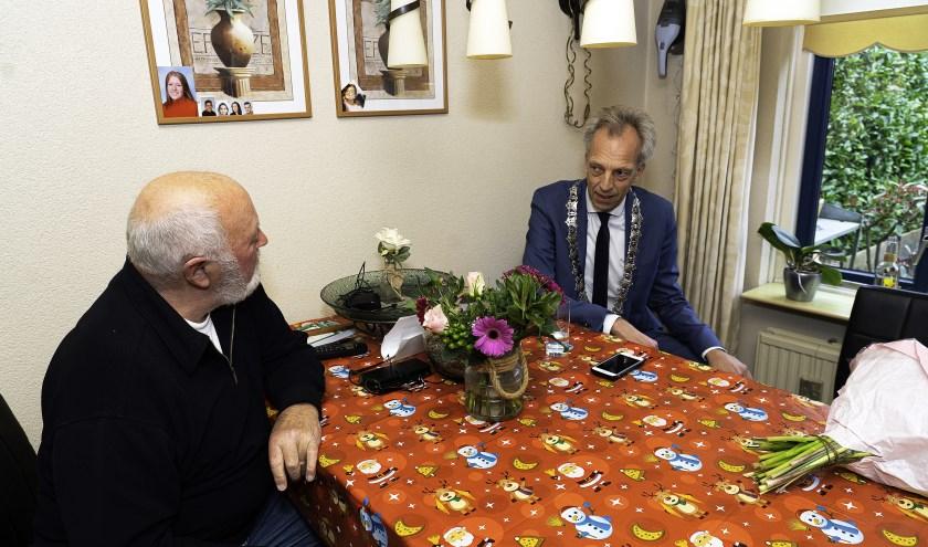 Echtpaar de Jong-Van der Hel 60 jaar getrouwd