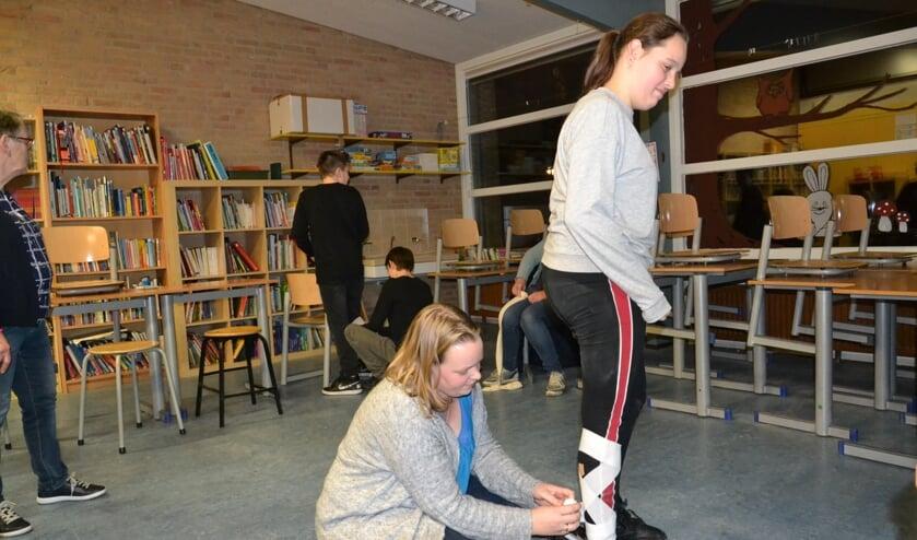 • Jeugdleden kunnen mee doen aan vervolgcursussen als 'Wat te doen bij Sportletsel?'