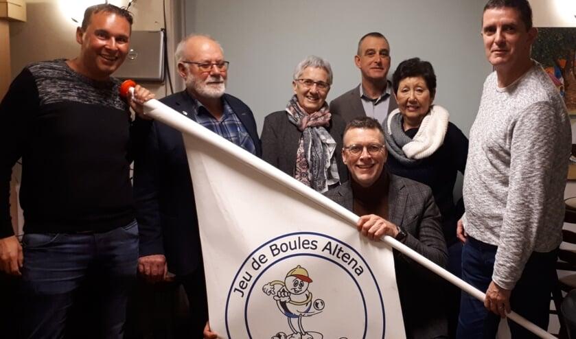 • CDA Altena sprak met Jeu de Boules Altena onder andere over het nieuwe subsidiebeleid.
