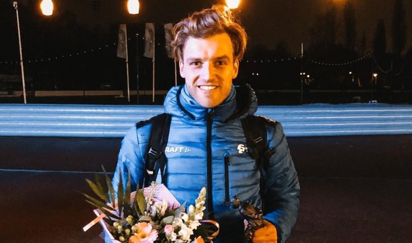• Aron Romeijn nationaal kampioen pure sprint.