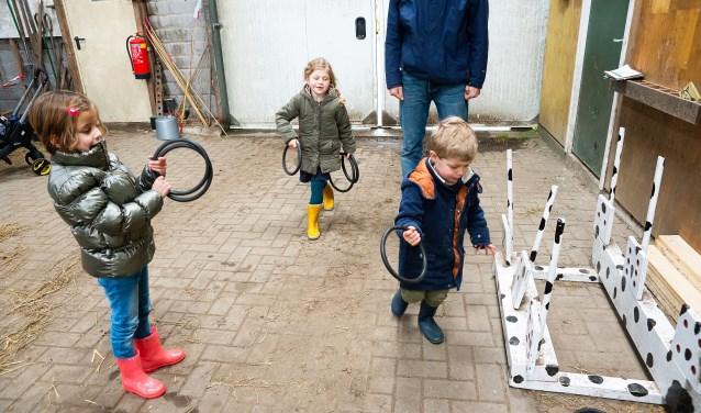 Kraamfeest op Bezoekboerderij Het Achterhuis Leerdam Foto: Nico Van Ganzewinkel © Leerdam