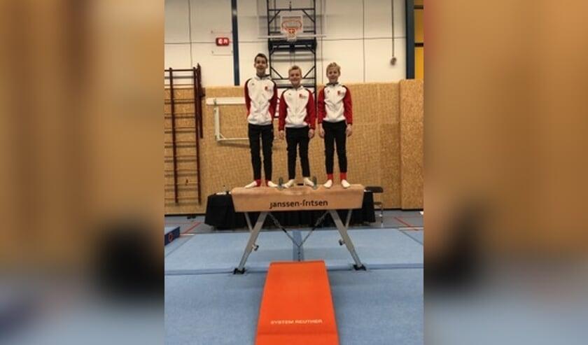 • Op de foto van links naar rechts: Pablo Labrijn, Pepijn Janse, Benjamin Venema.