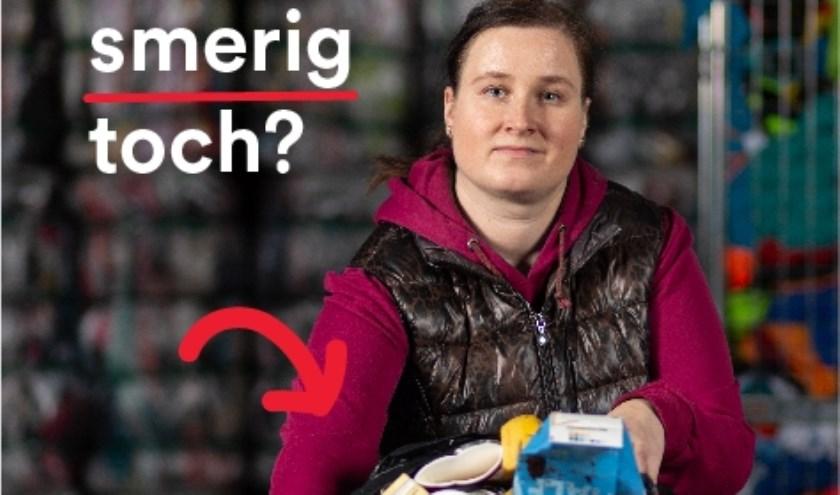 • Magdalena is één van de zes textielsorteerders die centraal staat in deze campagne.