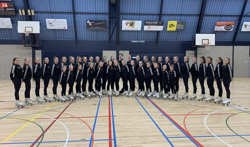 • De Ker-Rolls deden in zes categorieën mee aan het NK en werden overall Nederlands Kampioen.