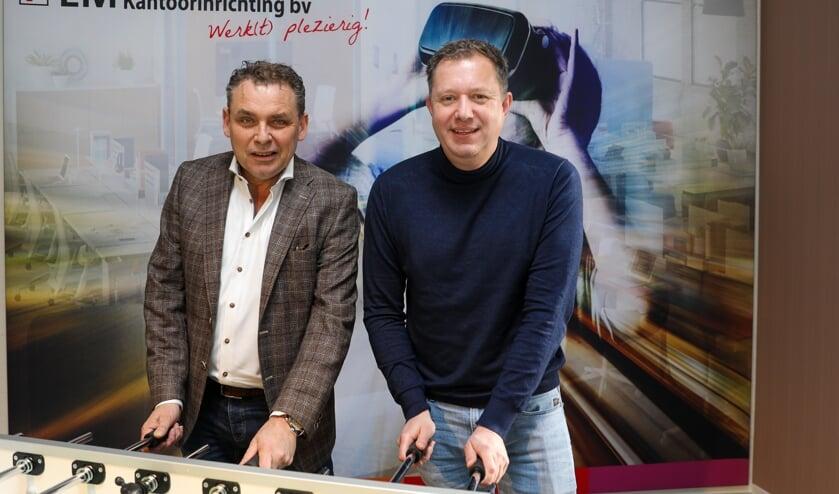 • Mark Timmer en Ronald Rietveld zijn met hun ondernemingen de hoofdsponsors van de EM - Van der Wal Cup.